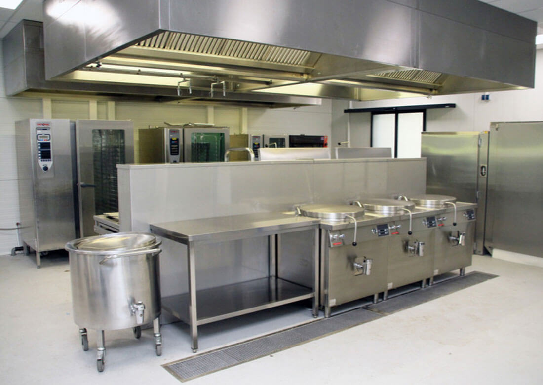 Temporäre Küche